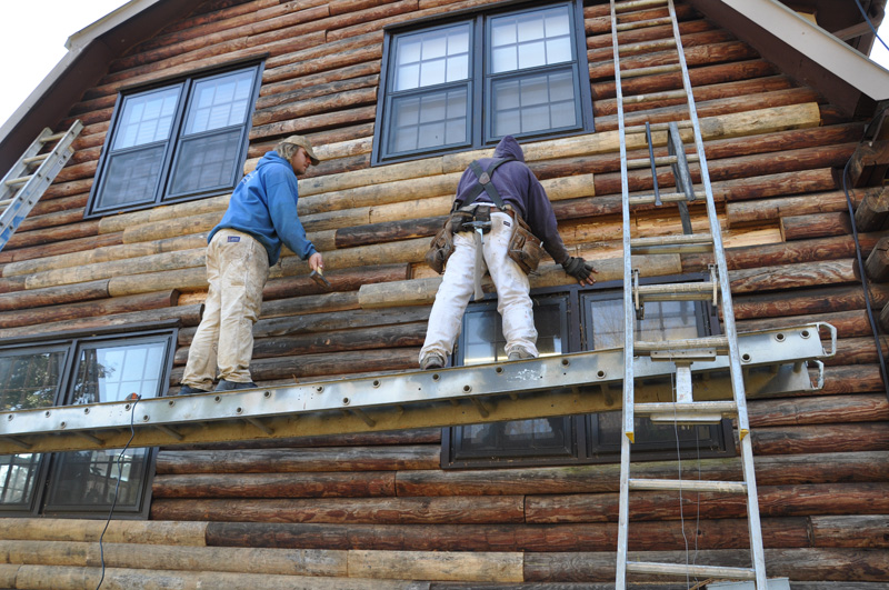 Ironwood Log Home Restoration Amp Finishing Gallery