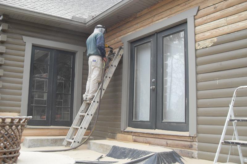 Ironwood Log Home Restoration Amp Finishing Gallery